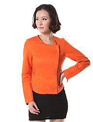 Women's Polyester/Spandex Casual TOP OF THE TOWN