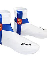 KOOPLUS - сборной Финляндии полиэстер + лайкра синий + белый Велоспорт обувь Обложка
