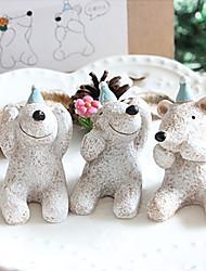 """""""Ne pas écouter, regarder et parler"""" Polar Bear souvenir - Ensemble de 3"""