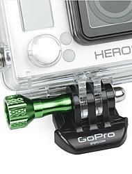 Groen Aluminium Mini Schroef voor GoPro 3 Plus / 3 +