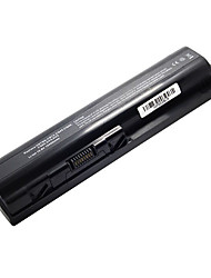 10400mah Replacement Laptop Battery for HP dv4 dv4i dv4t dv4z CQ61 dv5/ct dv5t dv5z dv6t CQ40 12cell - Black