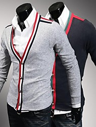 uomini di marca sottile cardigan misura cardigan casuale