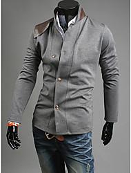 costura gola jaqueta masculina