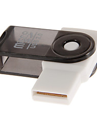 USB 2.0 Memory Card Reader (paars / roze / zwart / rood / oranje)