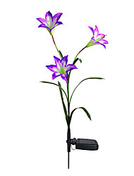 Color Changing Solar Lily Flower Stake Light(CIS-58263A)