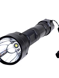 1000lm 5 Mode Cool White Flashlight  Extension  Tube