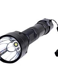 1000lm 5 Mode Cool White Flashlight  Extension  Tube