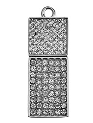Diamond Feature Metal USB Flash Drive 32G