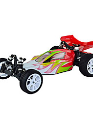 1/10 Scale 2WD elétrica escovado RC Buggy (Red & White)
