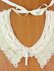 Women's Vintage Lace Floral Collar