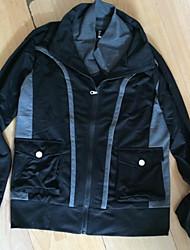nouvellement mince couleur contrastée veste légère pour hommes