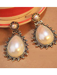 Women's Vintage Pearls Studs