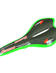 NEASTY Full Carbon 3K Green Rim Bicycle Saddle