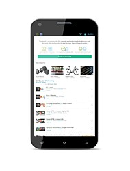 "ONN ONN Star 5.0 "" Android 4.2 3G-Smartphone (Dual SIM Quad Core 8 MP 1GB + 4 GB Schwarz)"