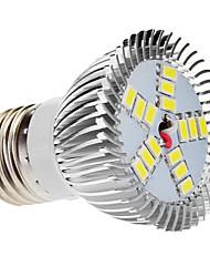 Faretti 15 SMD 5730 E26/E27 5.5 W 480 LM 6000 K Luce fredda V