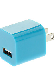 US Plug USB Power Charger for iPhone 5 (Blue)