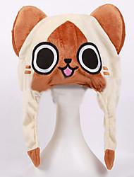 Monster Hunter The Cat Plush Hat Cosplay Headgear