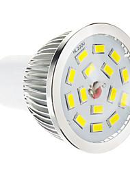 5W GU10 LED Spot Lampen 15 SMD 5730 100-550 lm Warmes Weiß Dimmbar AC 220-240 V
