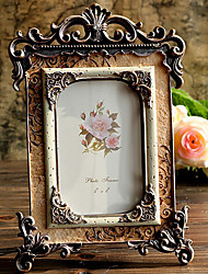 "10.25""H Retro Style Luxuriant Table Top Picture Frame"
