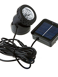 Waterproof  Solar Powered 6-LED Spotlight Garden Outdoor Flood Lamp(CIS-57157)