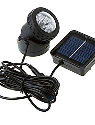 Impermeável 6-LED Ponto de Luz Energia Solar ar livre lâmpada (CIS-57157)
