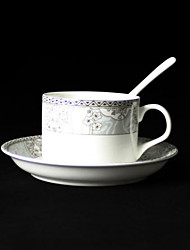 Hairpin Coffee Mug,Porcelain 5oz