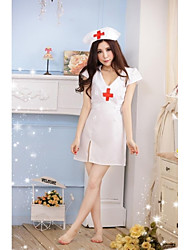 Women Ultra Sexy/Uniforms & Cheongsams Nightwear , Cotton