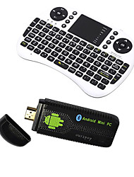U73 Ourspop + i8 Air Mouse Dual-Core Android 4.2.2 Google TV Dongle (1GB RAM 8GB ROM)