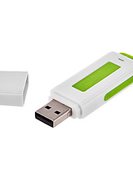 2 in 1 USB Flash Drive Surveillance Audio voice Recorder 8GB 96 Hours Long time recording USB hidden type (Black)