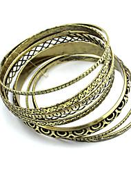 Elegant-Craft Graceful Small Metal Beads Single Red Rope Bracelet