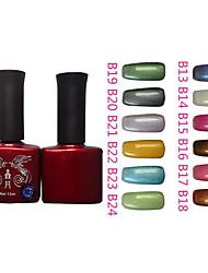 Motif 1PCS Phoenix Gel UV couleur de vernis à ongles B Sery NO.13-24 (12ml, couleurs assorties)