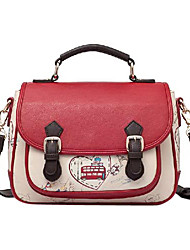 Jet & Sharon Retro Preppy Style Single Shoulder Classic Lolita Handbag