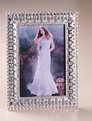 "6""H Traditional Style Metal Picture Frame"