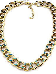 Elegant-Craft gracieuse simple Glaze Small Circle Bracelet métal style d'