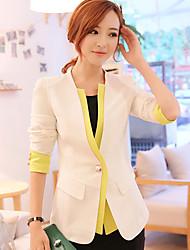 Baisen Lässige Double Neck Suit (weiß)