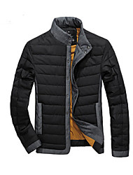 Men's Coats & Jackets , Polyester Casual GUYIQI