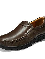 Talon plat Comfort Mocassins Chaussures en cuir pour homme