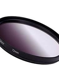 72mm Постепенное Серый фильтр объектива