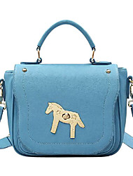 Jet & Sharon Candy Color Vivid Horse Pattern Sweet Lolita Handbag