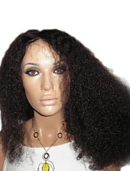 """16"""" 100% Remy Human Hair Curly Lace Front Wig"""
