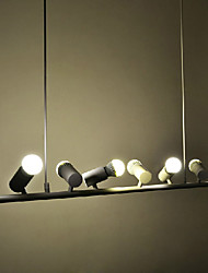 Anhänger, 6 helle, moderne Eisen Malerei
