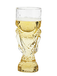 World Cup Shaped Novelty Cup, Glass 10oz