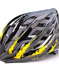 MOON Unisex Half Shell Bike helmet 24 Vents Cycling Cycling / Mountain Cycling / Road Cycling / Recreational CyclingMedium: 55-59cm /