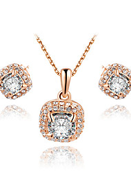 B & G Juweliers afgerond vierkant Set (White)