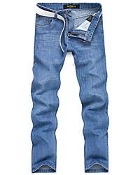 Jeans con estilo hombres delgados