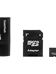 2G Hi-Speed Ultra microSD TF Card with microSD Adapter and USB Card Reader