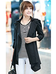 Women's Coats & Jackets , Cotton Blend Baoxue