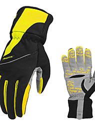 CoolChange Cycling Anti-skid Yellow Full Finger Winter Gloves