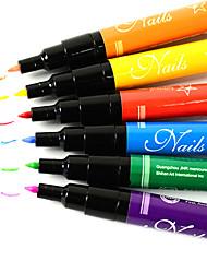 1PCS Nail Polish Nail Art Painting Pen(Assorted 12 Colors)