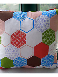 Poliéster Cojín con Relleno , Geométrica Moderno/Contemporáneo